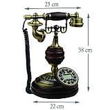 Стационарный деревяный gsm телефон sertec D9, фото 6