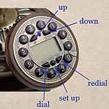 Стационарный деревяный gsm телефон sertec D9, фото 5