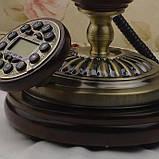 Стационарный деревяный gsm телефон sertec D9, фото 3