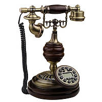 Стационарный деревяный gsm телефон sertec D9, фото 1
