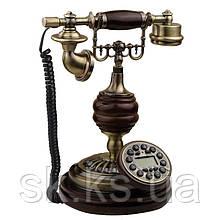 Стационарный деревяный gsm телефон sertec D9