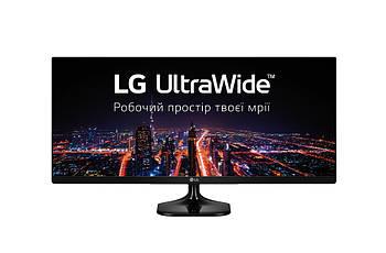 "LG 25"" UltraWide 25UM58-P IPS Black"
