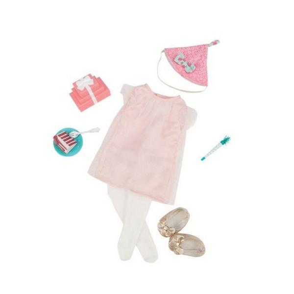 e2514419f7c640 Набір одягу для ляльок Our Generation Deluxe для День народження з  аксесуарами BD30229Z (BD30229Z)