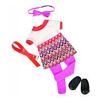 Набір одягу для ляльок Our Generation Сукня з принтом BD60014Z (BD60014Z)