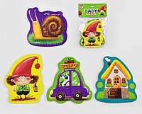 М'які пазли VT1106-66 Казка (4 шт. в одному наборі),Baby puzzle Vladi toys