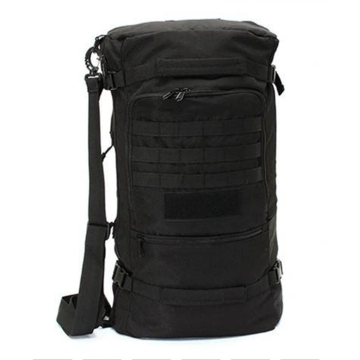Сумка-рюкзак тактическая R101 черная, 50 л