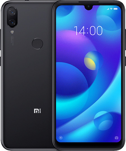 Смартфон Xiaomi Mi Play 464Gb Black