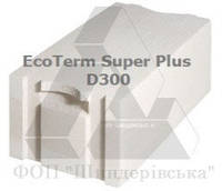 Газоблоки AEROC EcoTerm Super Plus 375х200х600 (паз-гребень)