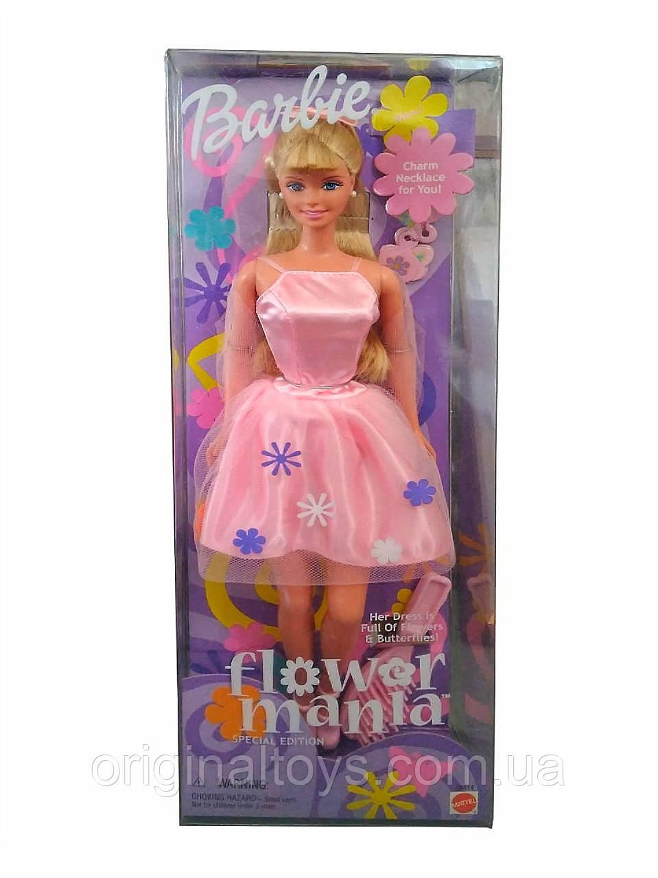 Коллекционная кукла Барби Barbie Flower Mania 2000 Special Edition 28614