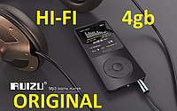 Плеер Mp3 Ruizu X02 HI FI Новинка 4Gb Black Чёрный