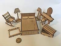Мебель игрушечная Спальня