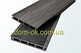 Террасная доска Tardex Classic/ Тардекс Классик 150х25х2200мм, цвет натур, антрацит, графит, венге Венге, фото 3