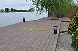 Террасная доска Tardex/Тардекс  Classic BRUSH без текстуры дерева - выбрать цвет Графит, фото 7