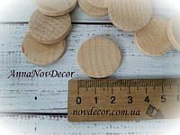 Круглые заготовки из дерева для декупажа и декора