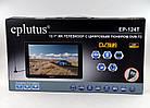 """Автомобільний телевізор DVB-T2 12"""" Eplutus EP-124T, фото 4"""
