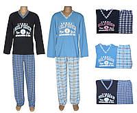 Комплект мужской для сна и дома / пижама с брюками/ 19020 Tommy Dark Blue коттон, р.р.42-60, фото 1