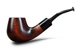 Трубка с фильтром для курения деревянная KAF201 в стиле Шерлок Холмс Bent Volcano из дерева груши