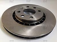 Тормозной диск передний R14 Ferodo DDF206 на Chevrolet Lanos 1.6(16V) , фото 1