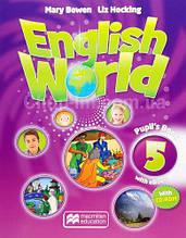 English World 5 Pupil's Book with eBook + CD for Ukraine (учебник с онлайн кодом и диском UA)
