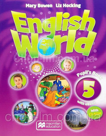English World 5 Pupil's Book with eBook + CD for Ukraine (учебник с онлайн кодом и диском UA), фото 2