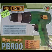 Шуруповерт Сетевой ProCraft PB800