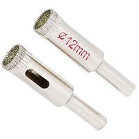 Sigma Коронки алмазные по керамике и стеклу Ø12 мм, Арт.: 1541121