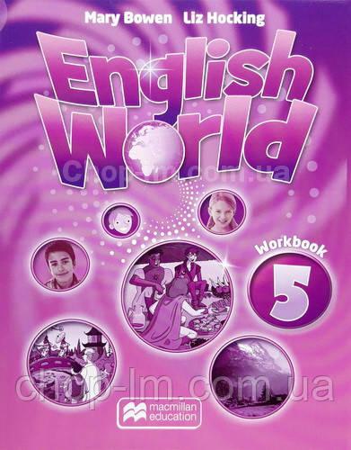 English World 5 Workbook for Ukraine (тетрадь по английскому языку, (UA)