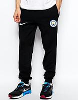 Мужские футбольные штаны Манчестер Сити, Manchester city, черные