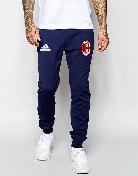 Чоловічі футбольні штани Мілан, Milan, сині