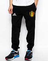 Мужские футбольные штаны Сборной Бельгии, Belgium, черные