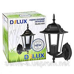 Светильник садово-парковый PALACE A001 E27 60W IP44 черн.Delux