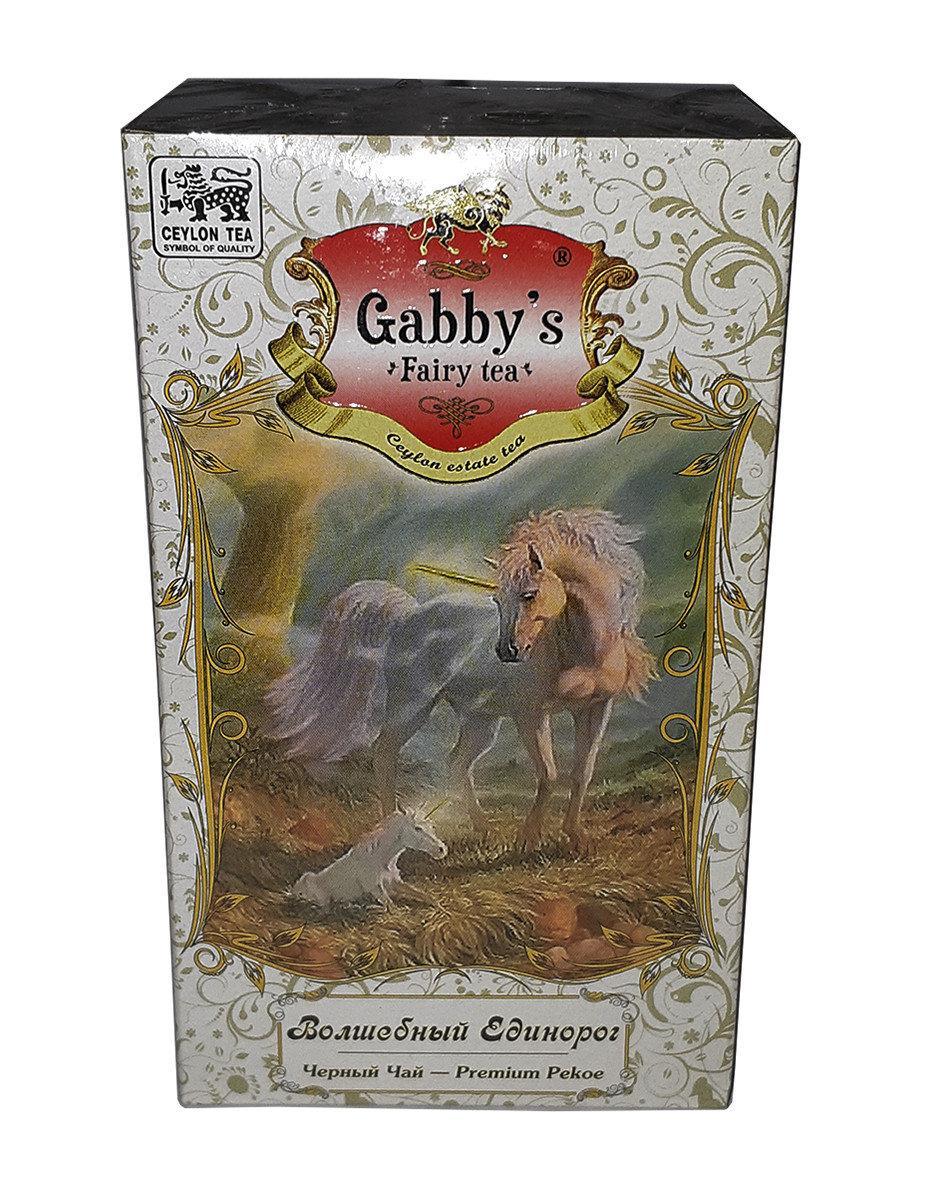 """Чай чёрный Gabby's """"Волшебный Единорог"""" Pekoe 100г."""