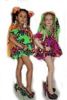 Детский сарафан-пышка в стиле Матрешка