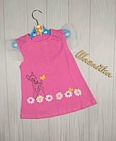 Платье летнее детское Бэмби Кулир рост 86-104 см