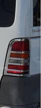Накладки на стопи Mercedes Vito 638 (мерседес віто 638), нерж.