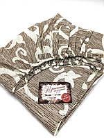 Простынь-резинка односпальная 80х200 Вензеля штрих