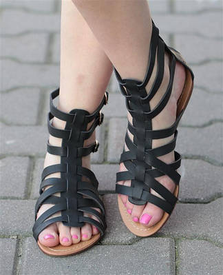 Женские сандалии Avery Black!