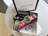 Женский брендовыйпояс Gucci (Гуччи)