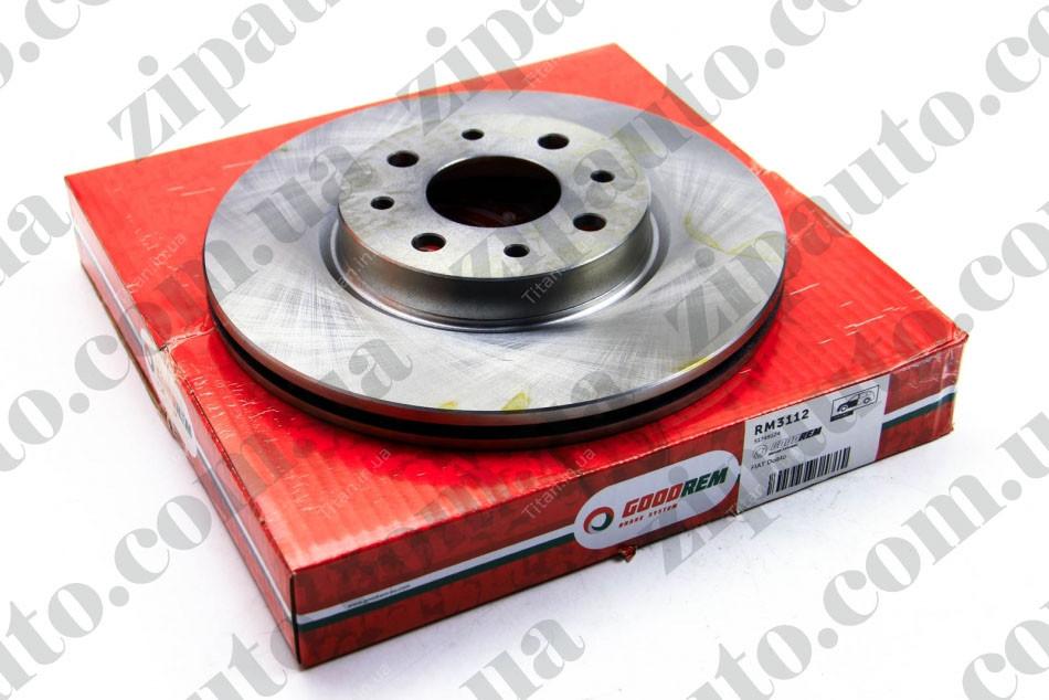 Тормозной диск передний Fiat Doblo 01-05   257x20   GOODREM