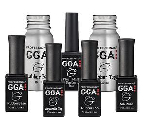 База и топ для гель-лаков GGA Professional