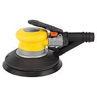 Sigma Шлифмашинка орбитальная пневматическая с пылесборником 125 мм,  Арт.: 6731441