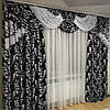 Богатые шторы с ламбрекеном в комплекте, фото 3