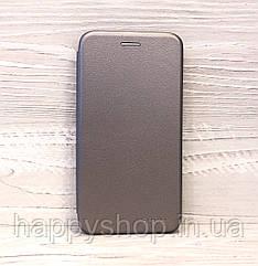 Чехол-книжка G-Case для Huawei Y6 Pro TIT-U02 (Серый)