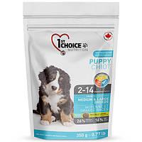 Супер премиум корм для щенков крупных и средних пород 1st Choice Puppy Medium&Large Chicken (2.72 кг.)