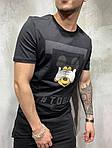 Мужская футболка с Микки Маус (черная) - Турция, фото 2