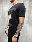 Мужская футболка с Микки Маус (черная) - Турция, фото 3