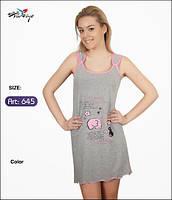 Летнее платье для сна и дома Onurel 645