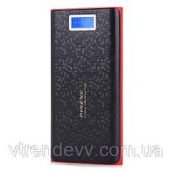 Портативное зарядное устройство Power Bank Pineng 40 000 mAh LCD