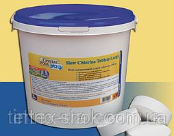 Crystal Pool 2201, Slow Chlorine Tablets Large. Медленный хлор. Большие таблетки, 1кг