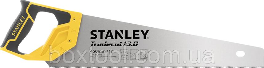 Ножовка по дереву 450 мм с зубьями 7 tpi Stanley STHT20354-1